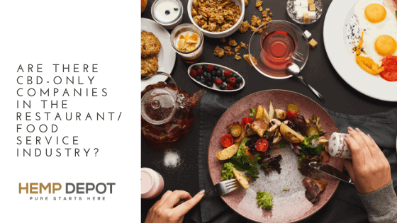 Are there CBD-Only Companies in the Restaurant/Food Service Industry?
