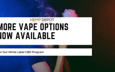 More Vape Options Now Available for Our White Label CBD Program