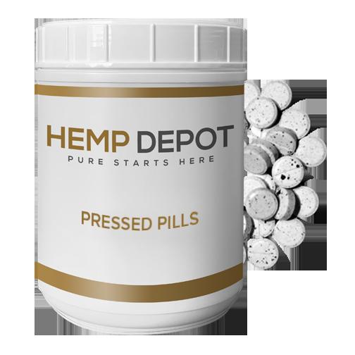 bulk cbd pressed pills