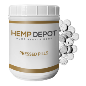 bulk cbd pressed pills